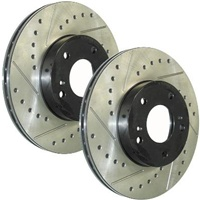 StopTech Rear Rotors: MS6