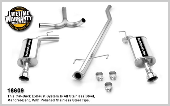 Magnaflow Cat Back Exhaust System: Magnaflow Cat Back Exhaust System At Woreks.co