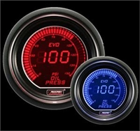 ProSport Red/Blue Evo Oil Pressure Gauge (Elec.)