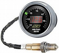 AEM Wideband Air-Fuel Controller Gauge 6 colors in one.