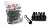 Muteki Closed End Lug Nut Set: MOST MAZDA (M12 X P1.5)