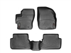 WeatherTech DigitalFit® FloorLiner™: (04-09 Mazda3, Mazdaspeed 3) BLACK