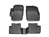 WeatherTech DigitalFit® FloorLiner™: (10-13 Mazda3, Mazdaspeed 3) BLACK