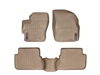 WeatherTech DigitalFit® FloorLiner™: (04-09 Mazda3, Mazdaspeed 3) TAN