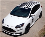 "Hardline Performance Windshield Vinyl Decal (35"")"