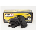 Hawk PC Rear Brake Pads: Mazdaspeed 3, Ford Focus ST