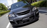 AutoExe Front Bumper & Grill: MAZDASPEED 3