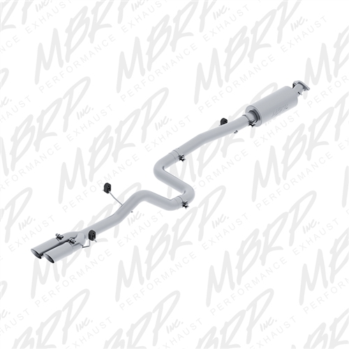 MBRP Pro Series Cat-Back Exhaust: Ford Fiesta ST