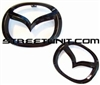SU Black Out Emblem Set: 2014 Mazda3