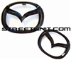SU Black Out Emblem Set: 2014 Mazda6