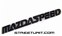 StreetUnit Black Out Mazdaspeed Emblem