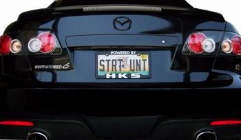 Black Out Rear Emblem MS6  Mazda6