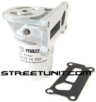 Spin-On Oil Filter Conversion Kit: MAZDASPEED 6, 3 & CX7 (with top mounted  oil cooler  Filter Not Included)