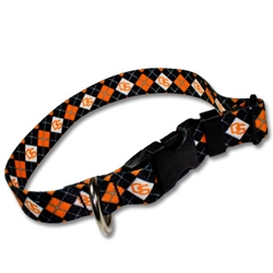Adjustable Pet Collar Collegiate