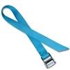 Metal Cam Straps w/ 1-1/2 inch Solid Color Polyester
