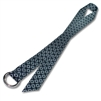 "Double O-Ring Belts w/ 1-1/2"" Patterned Polyester Webbing"
