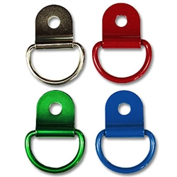 Metal D-Ring w/Clip