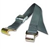 Flat Hook Straps w/ 2 inch Heavyweight Polypropylene