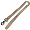 Leash w/ 1 inch Flat Nylon Webbing