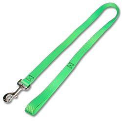 "Leash w/ 3/4"" Flat Nylon"
