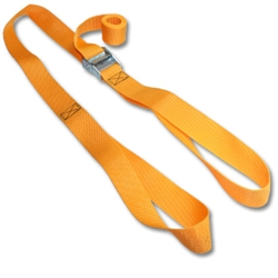 Loop Straps w/ 1-1/2 inch Cam Buckle & Heavyweight Polypropylene