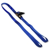 Loop Straps w/ 1 inch Ratchet Buckle & Heavyweight Polypropylene