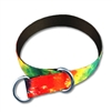 Pet Choke Collars 1in in Patterned Polyester