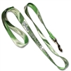 Pet ID Leash made with Patterned PQ Polyester Webbing