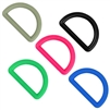 Colored Plastic D-Rings