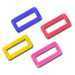 1 Inch Colored Plastic Loops