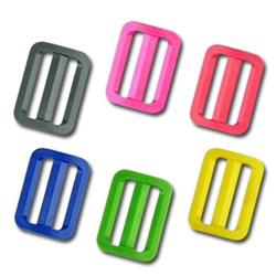 1 Inch Colored Plastic Slide