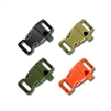 1/2 Inch Colored No Adjust Whistle Buckles