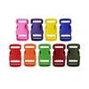 1 Inch Colored Single Adjust Side Release Buckles