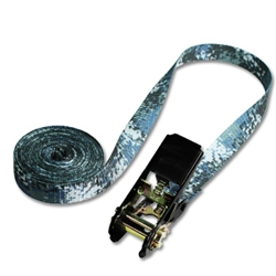"Ratchet Only Straps w/ 1"" Pattered Polyester"