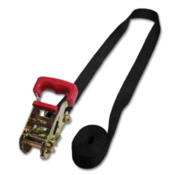 "Ratchet Only Straps w/1"" Seat Belt Webbing"