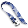 "Spring Buckle Straps w/ 1-1/2"" Patterned Polyester"