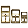 Solid Brass Tongue Buckles
