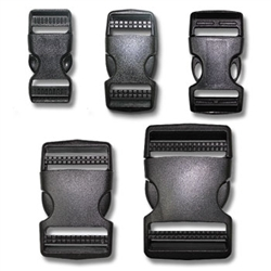 Double Adjust Side Release Buckles