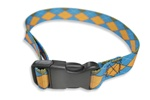 "Side Release Buckle Straps w/ 1"" Patterned Polyester"