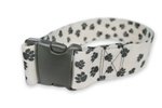 "Side Release Buckle Straps w/ 2"" Patterned Polyester"