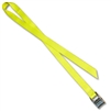 Stainless Steel Cam strap w/1 inch Solid Color Polyester Webbing