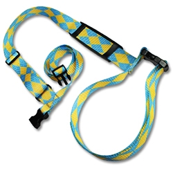 "Universal Carry Strap w/ 1-1/2"" Patterned Polyester"