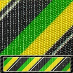 "Patterned Utility Polyester Webbing 5/8"""