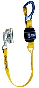 3M™-DBI-SALA­­® Manual Rope Adjuster with 3 ft. EZ-Stop Shock Absorbing Lanyard 1246037, Per Each