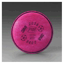 3M P100 Filter Nuisance Level Acid Gas 2096