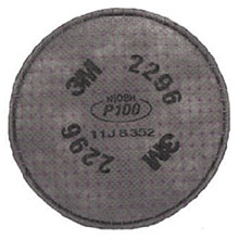 3M P100 Advanced Particulate Filter Nuisance 2296