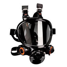 3M 3MR7800S-L Large Silicone Ultimate Full Face 7000 Series Reusable Facepiece With 6 Point Harness And Bayonet Connection