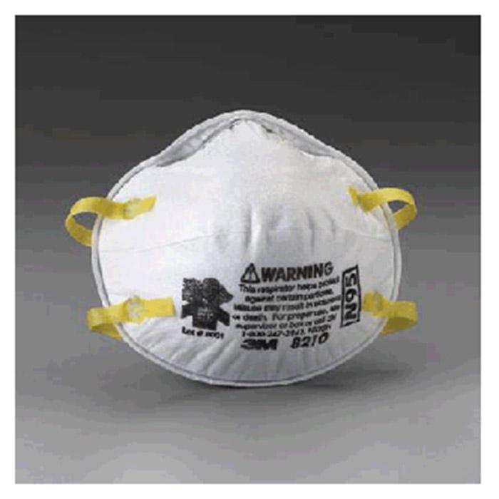 3m mask respirator 8210