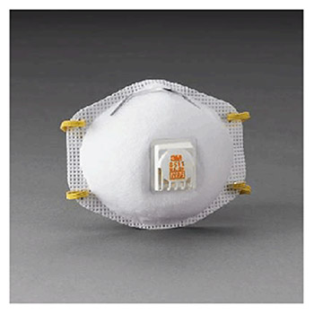 3M Disposable Breathing Mask 8511 N95 Particulate Disposable Respirator 8511