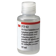 3M 3MRFT-12 Sensitivity Solution For  Any Particulate or Gas/Vapor Respirator